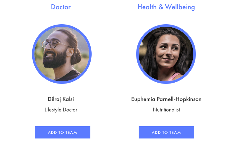 4a personalised health team