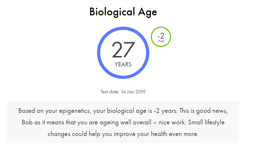 Awesome Screenshot app stage chronomics dashboard you indicator biological age overview 2019 08 13 3 11