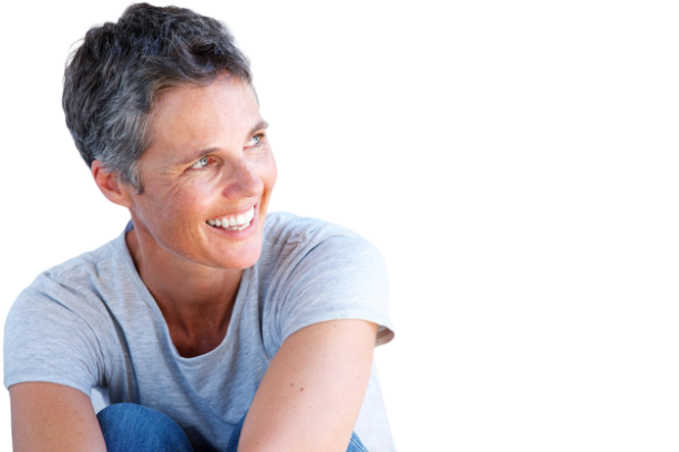 Close up beautiful older woman smiling against white background 33839 11447 removebg preview